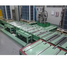 Commercial air conditioner external machine inspection line