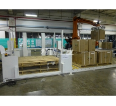 Automatic palletizing equipment