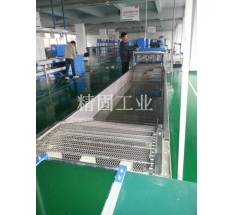 LED street lamp assembly line