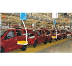 Electric energy automobile assembly line