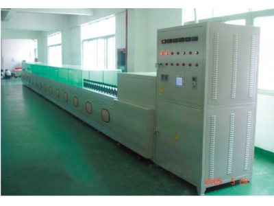 Chain aging line of energy saving lamp plate